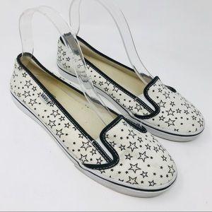 Vans Stars Slip Ons Flats Sneakers Shoes